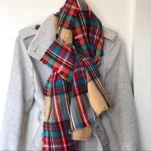 Merona | Soft Plaid Winter Scarf